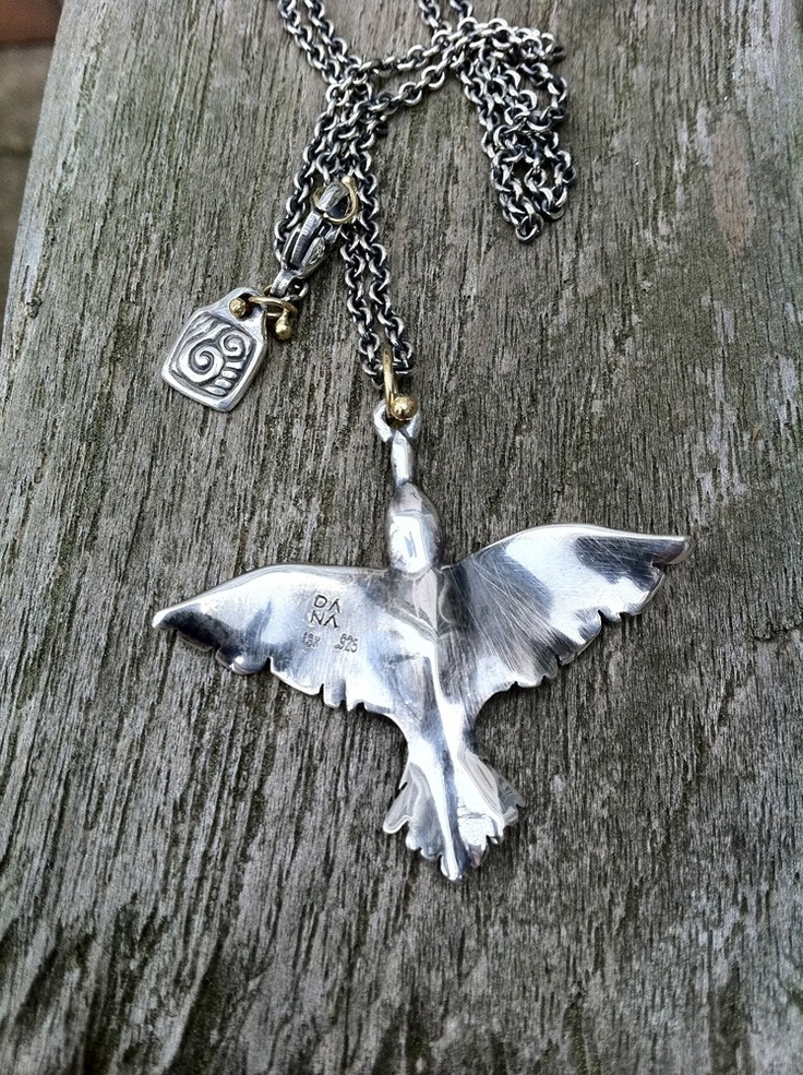 "Dana Schneider's ""Night Bird"" Pendant!"