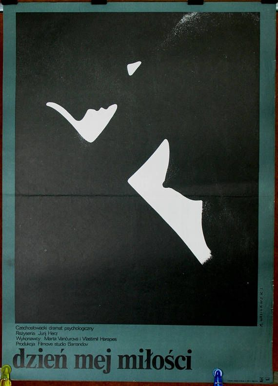 Poster. Polish original poster for the Czechoslovak 1976