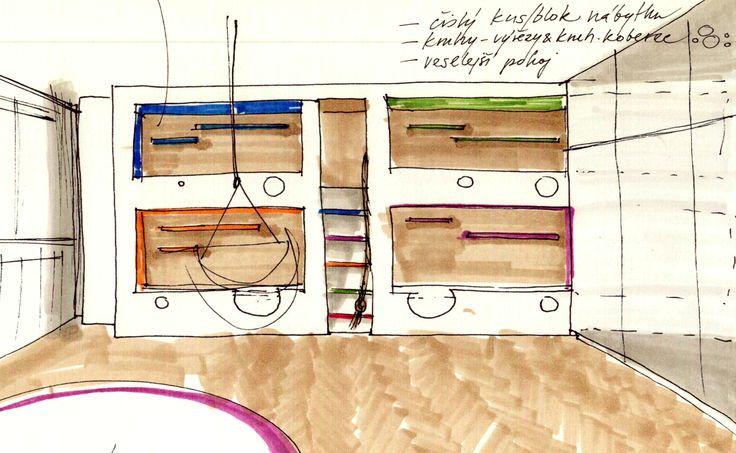 návrh palandy  bunk bed design idea
