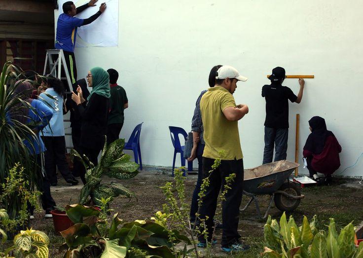 Gotong Royong Perdana 2016 Sekolah Agama UTM | Photos