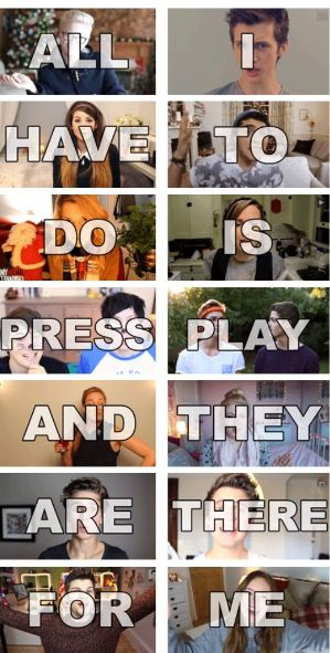 Jack and Jack, Taylor Caniff , Matthew Espinosa , The Dolan Twins , and Shawn mendes are role models.  This is deep