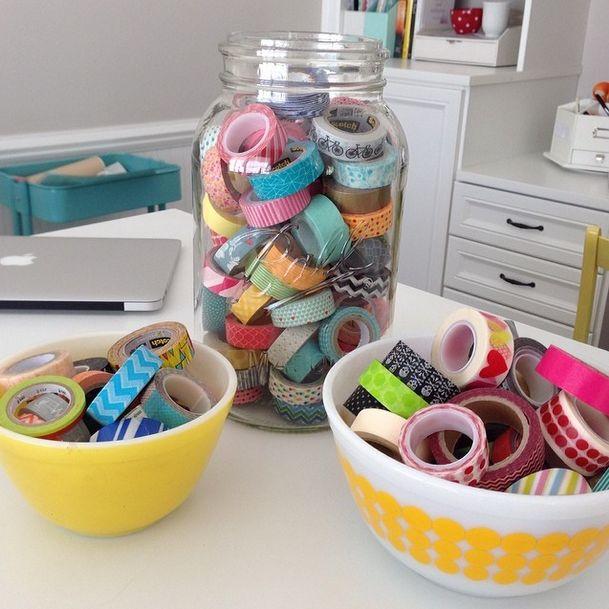 25 usos fabulosos para fita washi sobre iheartnaptime.com -sō muitas idéias grandes do ofício!