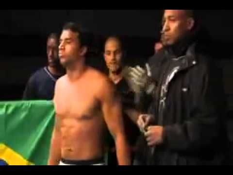 Capoeira Vs MMA Knockout 2010 - YouTube. Fight starts at about the 2:30 point.