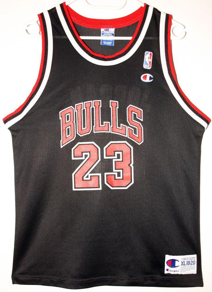 ... Womens Chicago Bulls 23 Michael Jordan 2014 New Black Jersey Champion NBA  Chicago Bulls 23 Michael ... c3b9781ee6
