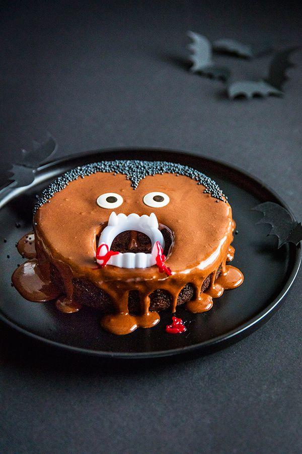 Kinderparty Zu Halloween Dieser Vampir Kuchen Ist Perfekt