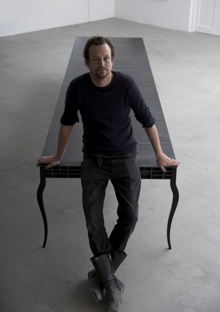 Gregor Jenkin considers himself a 'maker' rather than a designer. Using steel as his primary medium, he creates sophisticated contemporary pieces, most notably tables, which are manufactured in his small studio and exported across the globe.