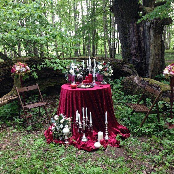 свадебная фотозона в лесу марсала - Поиск в Google
