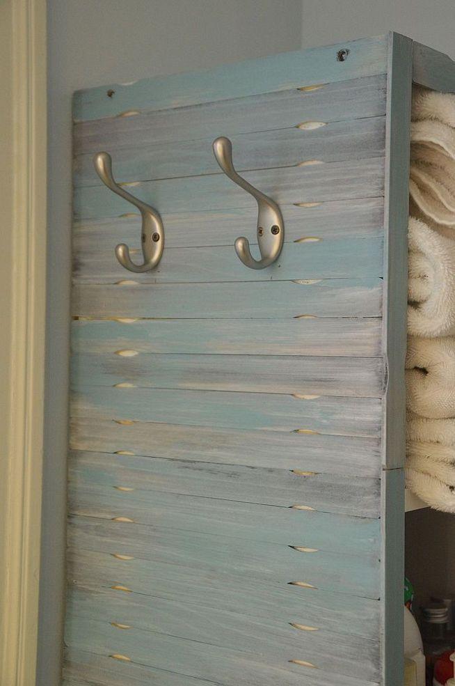 Cute idea from Hometalk :: Paint Stirrer Shelf Makeover