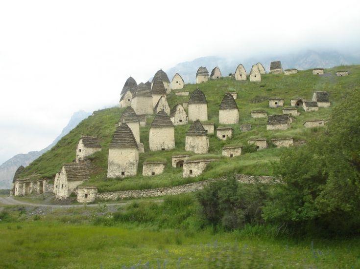 Город мертвых Россия (Северная Осетия)