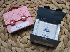 Süße Verpackung der #RitterSport #Schokolade für die #Schultüte oder als #Namenskarte für die Tafel zur #Einschulung
