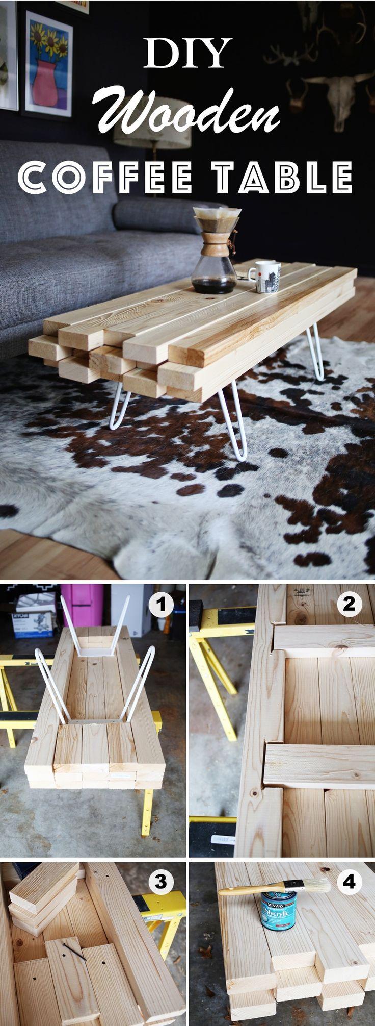 15 creative diy coffee table ideas you can build yourself