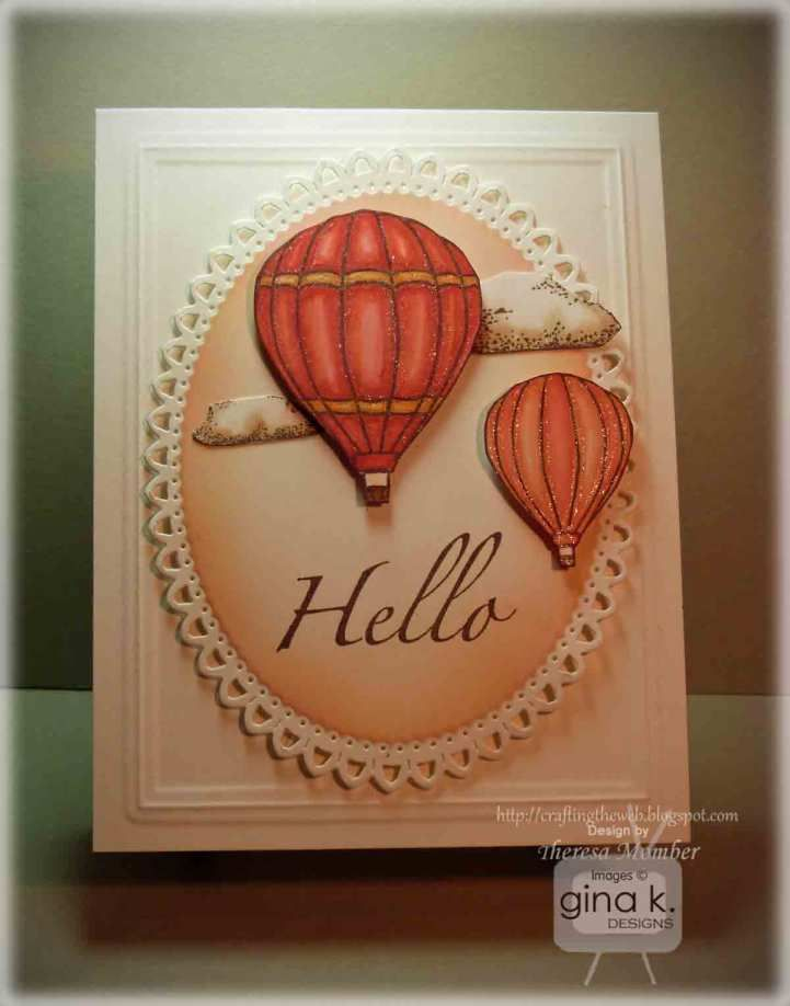 StampTV Balloon card