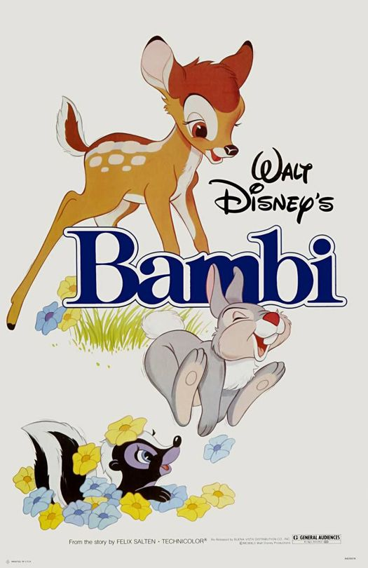 I have this adorable Bambi poster!