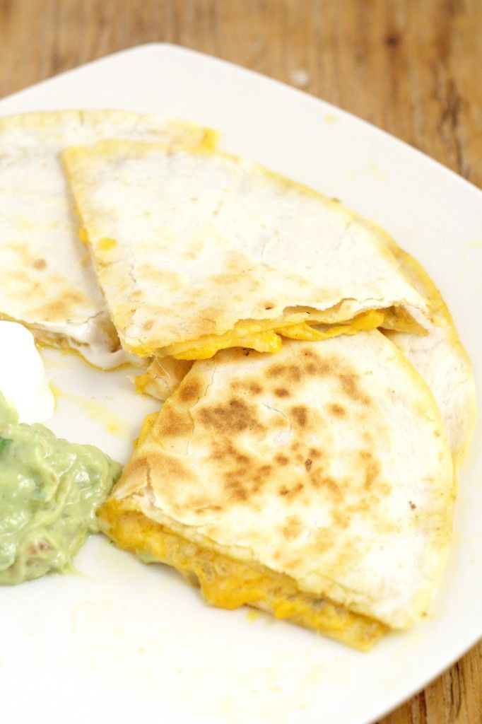 Copycat Taco Bell Quesadilla / Spicy Jalapeño Sauce • If you have a food processor, you can throw all of the ingredients in for the sauce, mix it up, and it's done. If you don't have a processor, you'll need to mince your jalapeno slices. Then whisk all the quesadilla sauce ingredients together until smooth and creamy