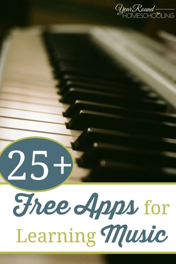 25+ {free} Apps for Learning Music -