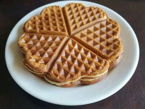 Get that waffle iron to work with this easy waffle batter recipe; the hardest bit is working out what to put on top of it when cooked, I personnaly like maple syrup, strawberries and cream.