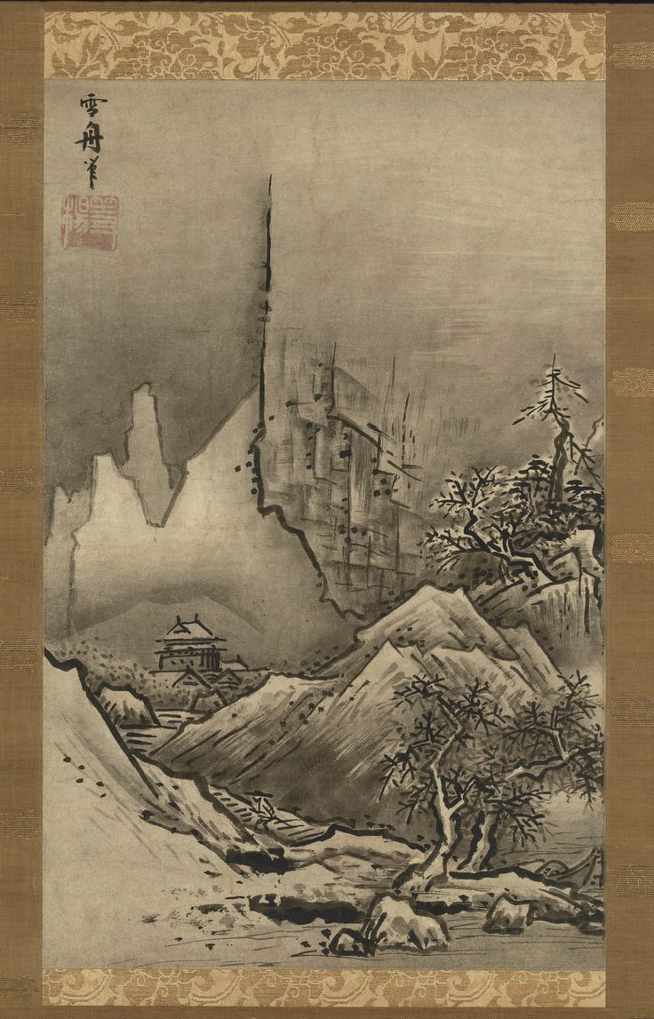 8 best sesshu toyo images on pinterest china painting art autumn and winter landscapes by sessh touyou muromachi periodend of 15th century sciox Gallery