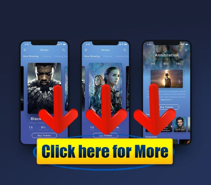 Movie App UI – Animation on Behance #android #iphone #ios