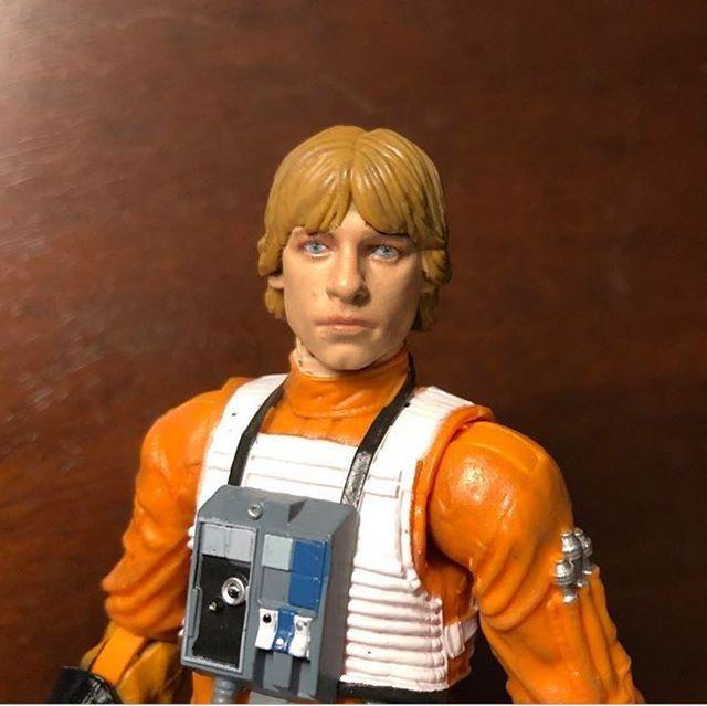 Star Wars Black Series 6-inch Archive Luke Skywalker X-Wing Pilot New in Package