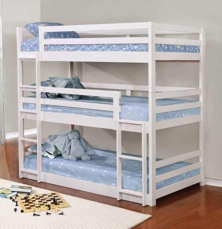 30+ Amazing Bunk Beds Design Ideas #TripleBunkBeds #Bedroom #BunkBeds  #HomeDecor #