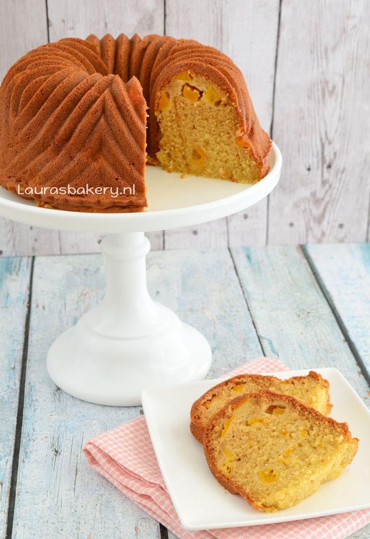 Perzik vanille tulband - Laura's Bakery