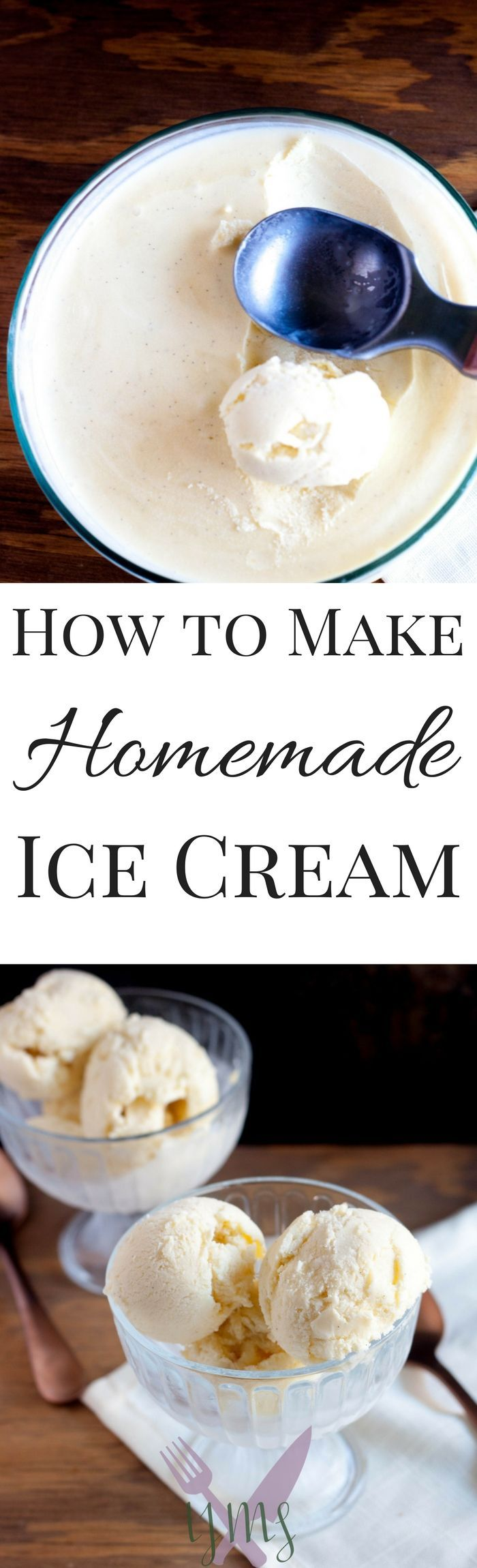 Making ice cream at home couldn't be any easier than with this simple steps. Homemade ice cream is the best because you can make it the way YOU like!