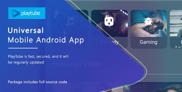Download Free PlayTube v1 4 12 - Sharing Video Script Mobile Android