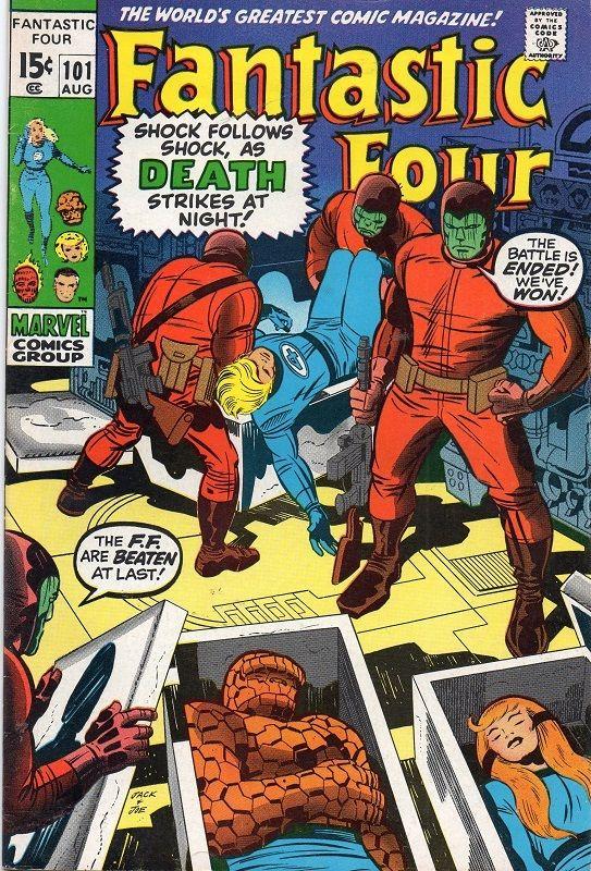Fantastic Four #101.