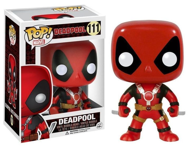 Funko POP DEADPOOL #111 Bobble Vinyl Figure NEW!