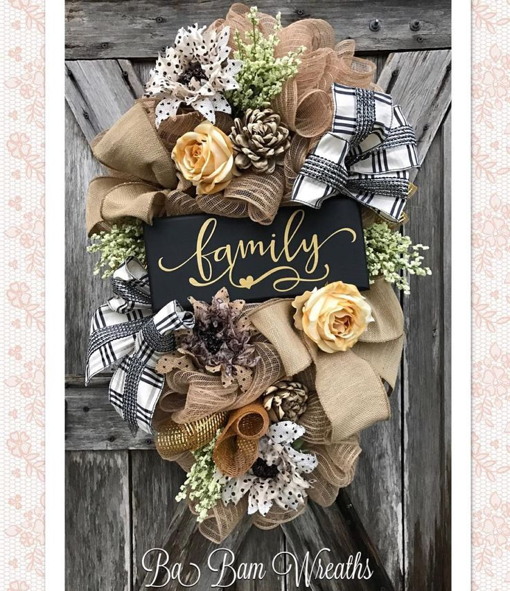 "33 Likes, 5 Comments - Ba Bam Wreaths (@babamwreaths) on Instagram: ""Family~ you are my home"""