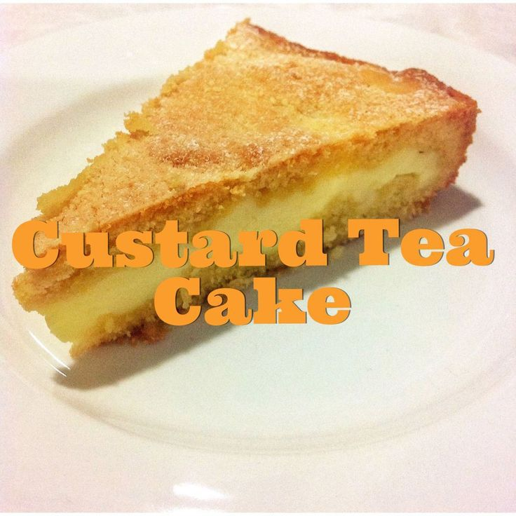 Two of my favourite things combined... tea cake and custard, what's not to like? This is one of those recipes that I never make... There reason is that I could literally drink tea and devour the wh...