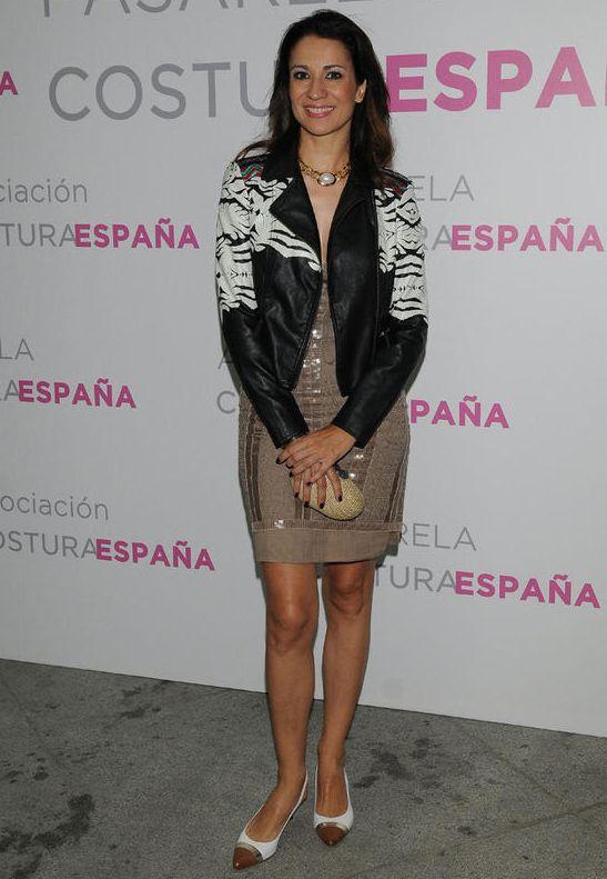 FRONT ROW & KISSING ROOM PASARELA COSTURA ESPAÑA: Silvia Jato