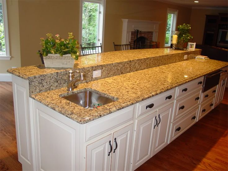 Kitchen Countertops Giallo Ornamental Our Kitchen