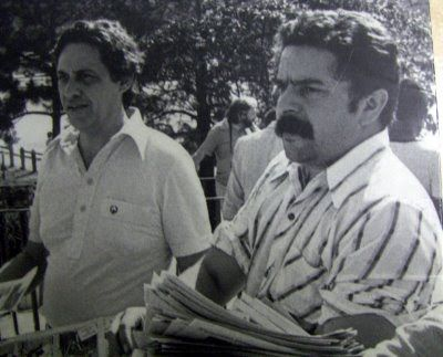 1978 – LULA E FHC: Lula em campanha para o senador Fernando Henrique.