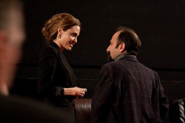 Angelina Jolie and Asghar Farhadi