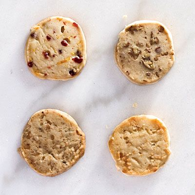 Slice-and-Bake Shortbread Cookies | Stock your freezer with this simple dough and be ready to slice and bake in minutes.