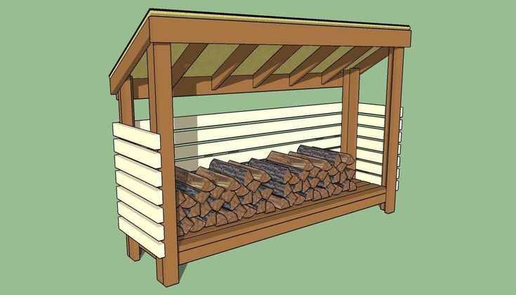 Features Of A Firewood Shed Vary Shedplans Building A Wood