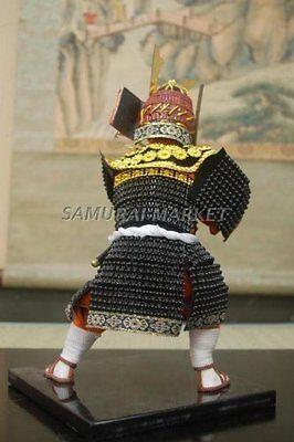 Authentic Japanese Samurai Dolls: Minamoto no Yoshitsune Doll !!