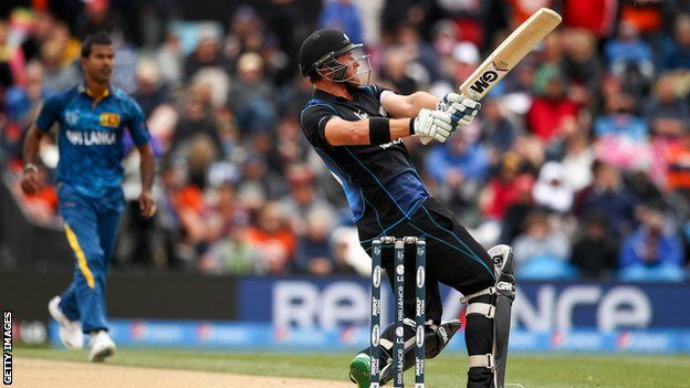 Co-hosts New Zealand got off to a winning start with a resounding 98-run victory over Sri Lanka in the opening match of the World Cup in Christchurch.