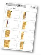 Pour travailler en numération avec le matériel Montessori