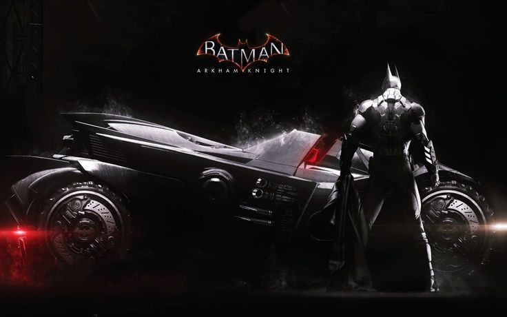 Batman Arkham Knight Batmobile HD Wallpaper - http://www.cartoonography.com/4839-batman-arkham-knight-batmobile-hd-wallpaper.html