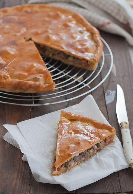 Receta de empanada de carne. Receta tradicional gallega http://www.unodedos.com/recetario-de-cocina/receta-de-empanada-de-carne-receta-tradicional-gallega/