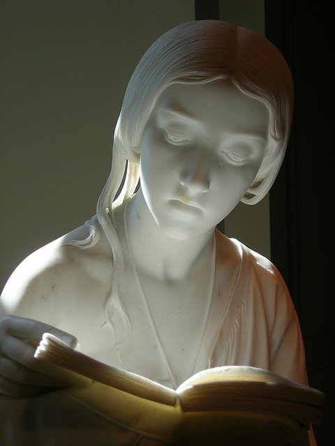 The Reading Girl by Pietro Magni