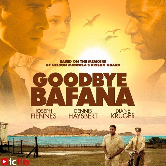 Watch #Goodbye #Bafana on #icflix Goodbye Bafana is the true story of a white South African racist whose life was profoundly altered by the black prisoner he guarded for twenty years. The prisoner's name was Nelson #Mandela #GoodbyeBafana #NelsonMandela #TheColorofFreedom #Xhosa #DennisHaysbert #JosephFiennes #DianeKruger #SouthAfrica #Movie #Drama #RobbenIsland #Apartheid #JamesGregory #Friendship http://www.icflix.com/#!/movie/8c9ff4b0-b8b0-48e3-bf16-d5c2580ad867
