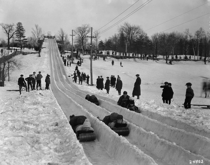 Montreal - Park slide.    Date Unknown