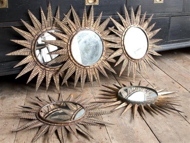 sunburst mirrors in Mirrors from Alex Macarthur
