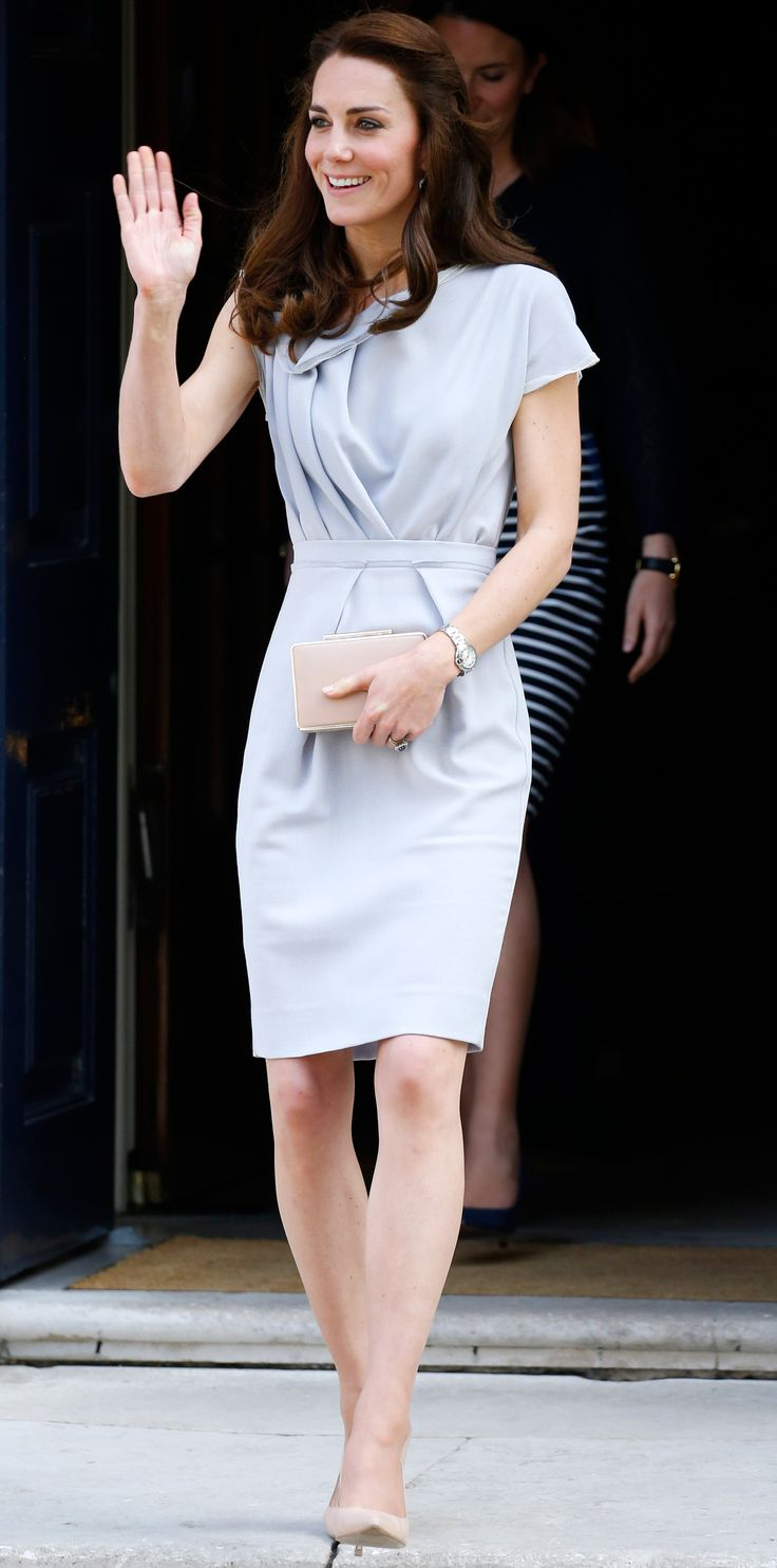 Look of the Day - Kate Middleton - from InStyle.com