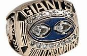 NY Giants Hall of Fame LB Lawrence Taylor puts his Super Bowl XXV ring ...