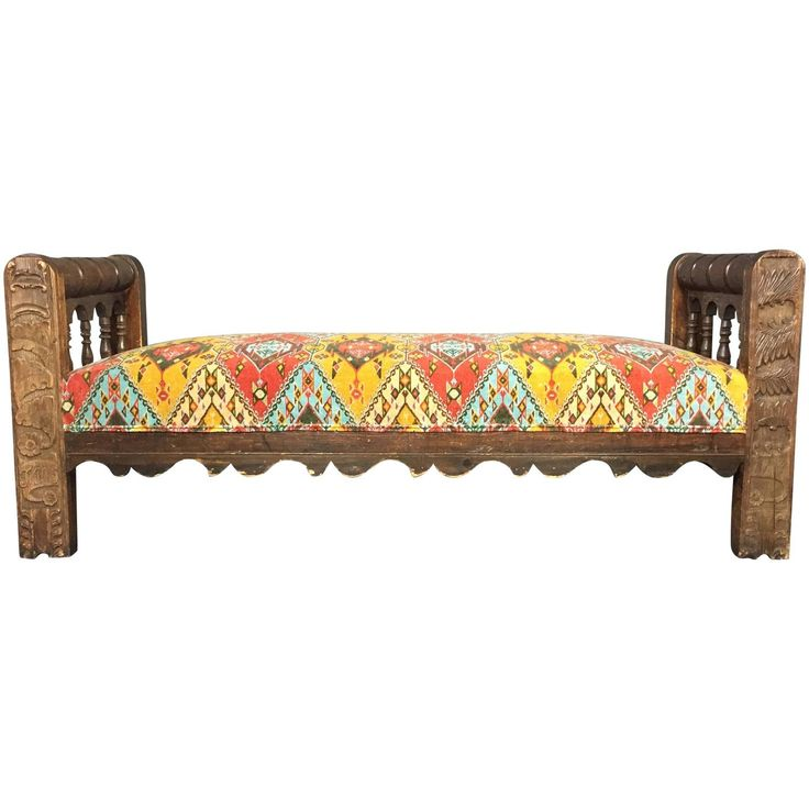1779 Dated, Hand-Carved and Signed Scandinavian Daybed | From a unique collection of antique and modern daybeds at https://www.1stdibs.com/furniture/seating/day-beds/