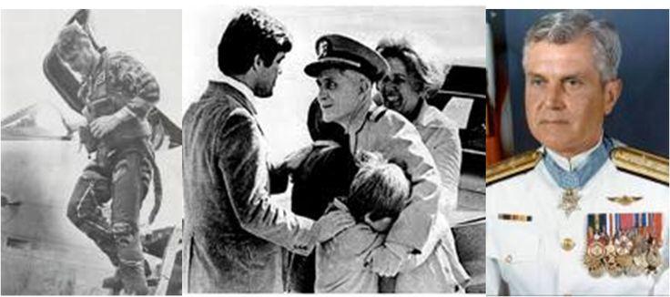 Admiral James Stockdale, most senior US POW in Vietnam